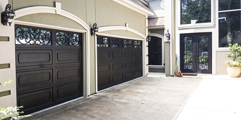 Custom Wrought Iron Garage Doors