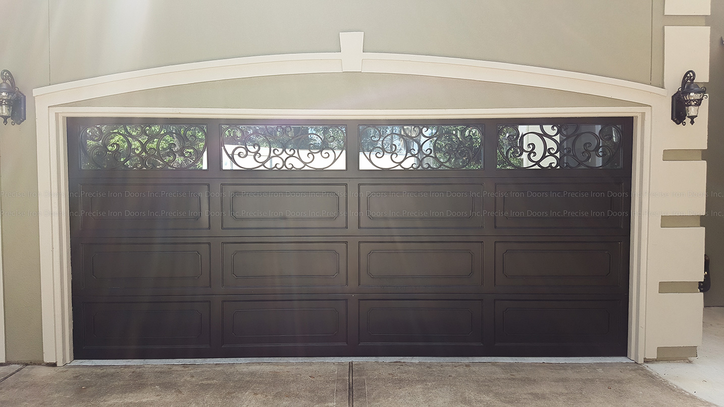 Iron Garage Door #10