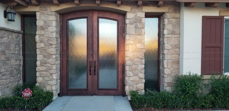 Modern Door w/ Sidelights