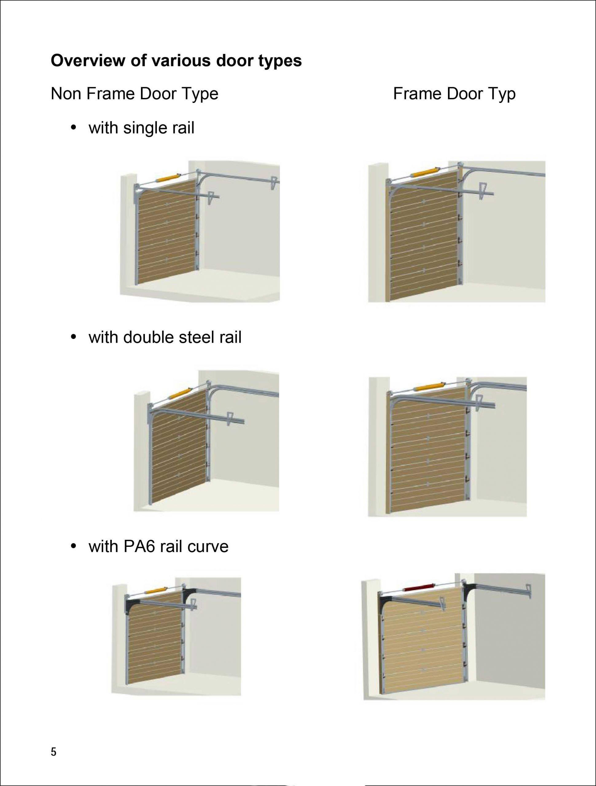 Aluminum Garage Door Installation