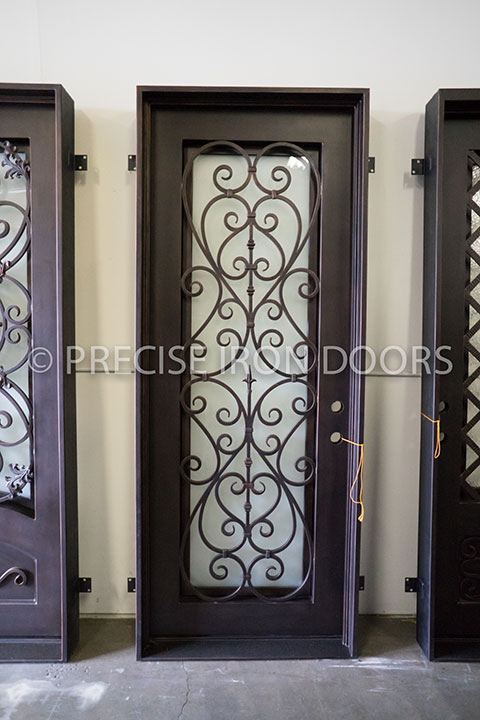 Capri Single Entry Iron Door
