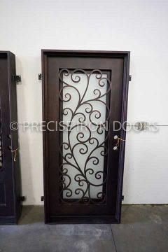 Siena Single Entry Iron Door