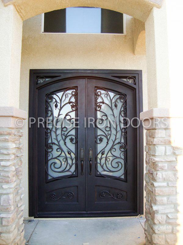 Venice Square Top Eyebrow Door