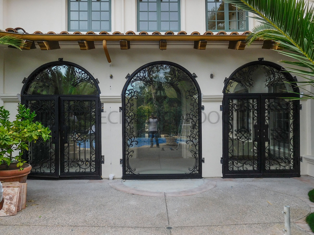 Custom Doors w/ Transom