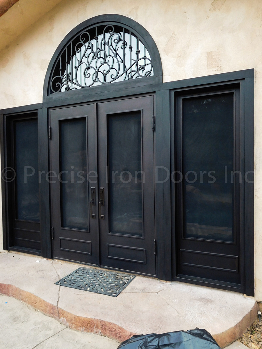 Patio Door w/ Sidelight & Transom