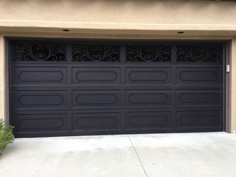Custom Iron Garage Door #36