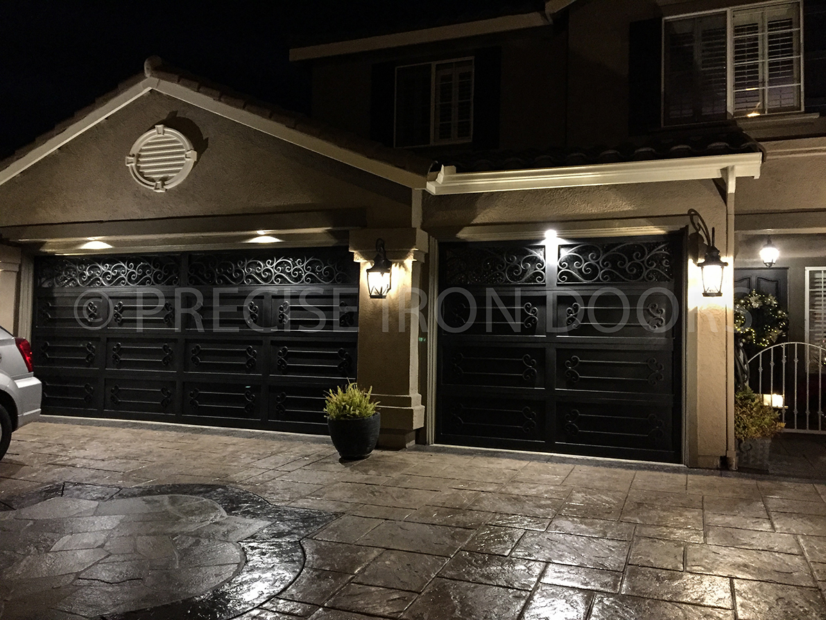 Iron Garage Doors #2