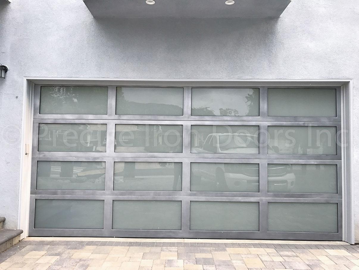 Iron Garage Door #9