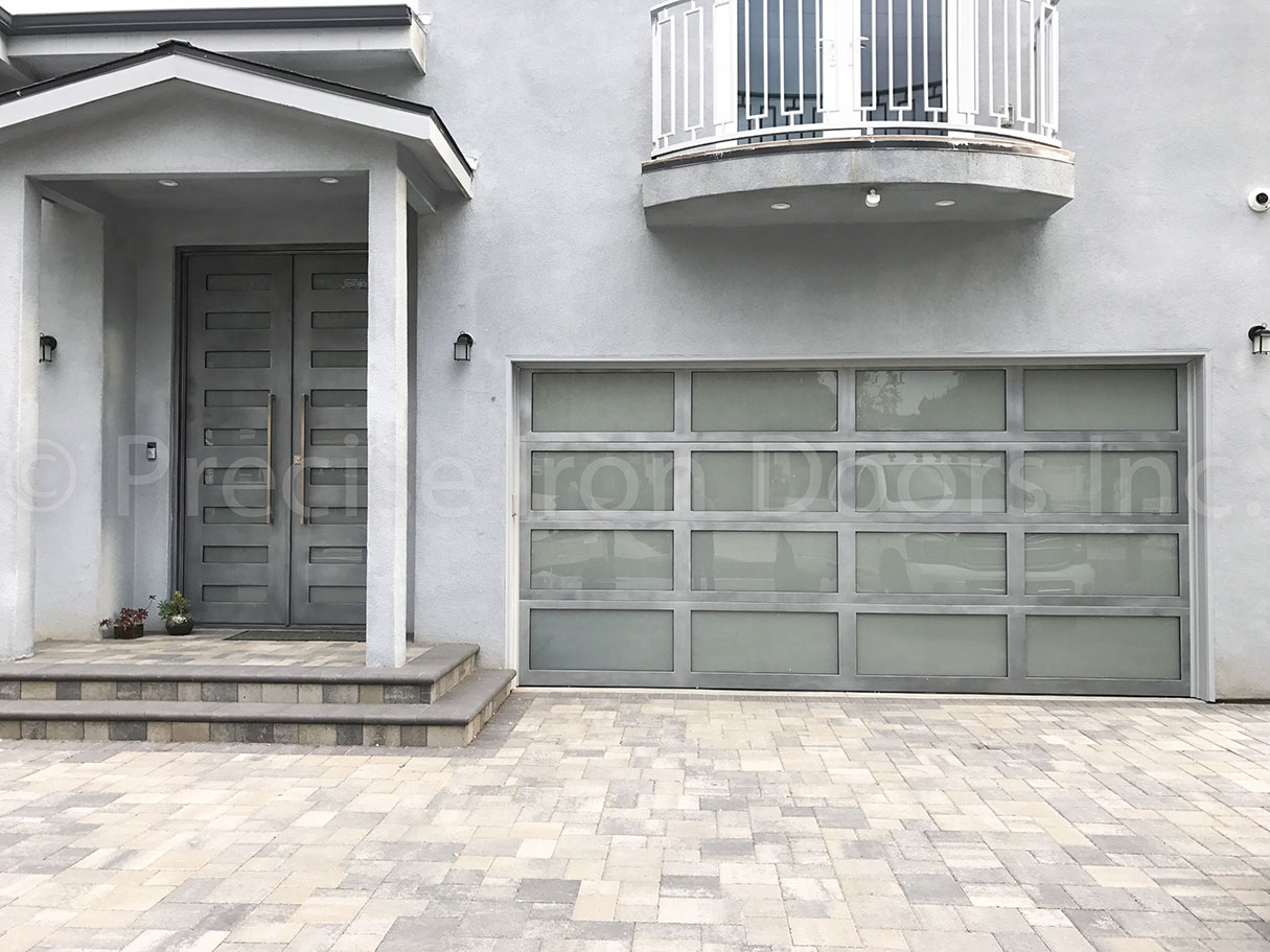 Zeus Double Entry Iron Doors & Iron Garage Door