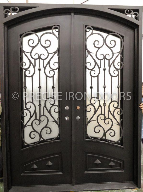 Valencia Square Top Eyebrow Door