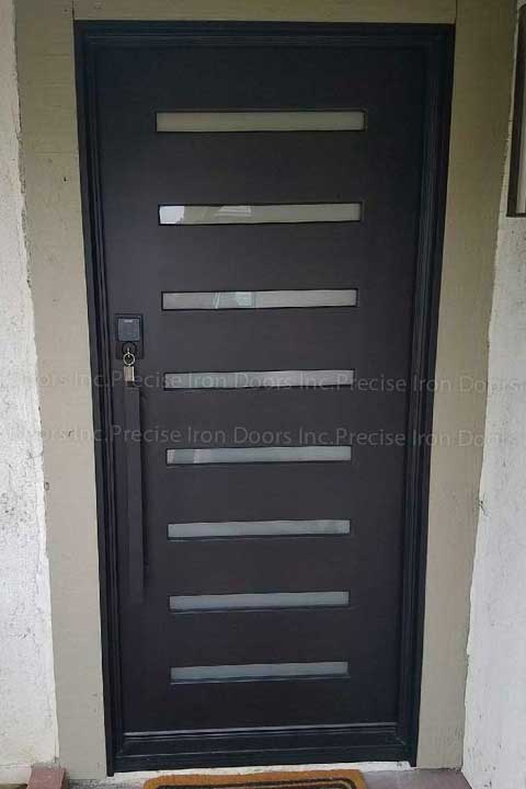 Zeus 8 Single Entry Iron Door