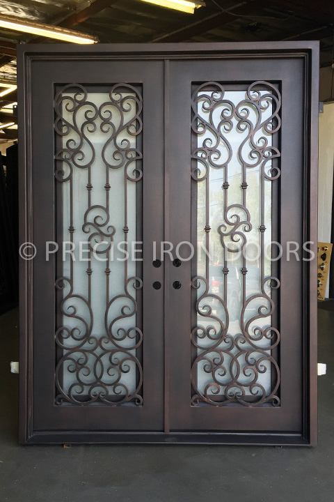 Alexandria Double Entry Iron Doors