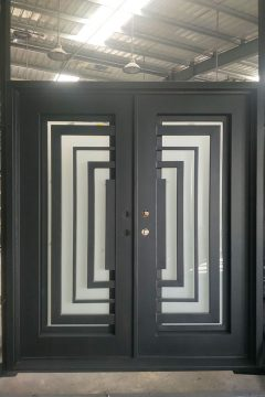 Balcan V2 Double Entry Iron Doors