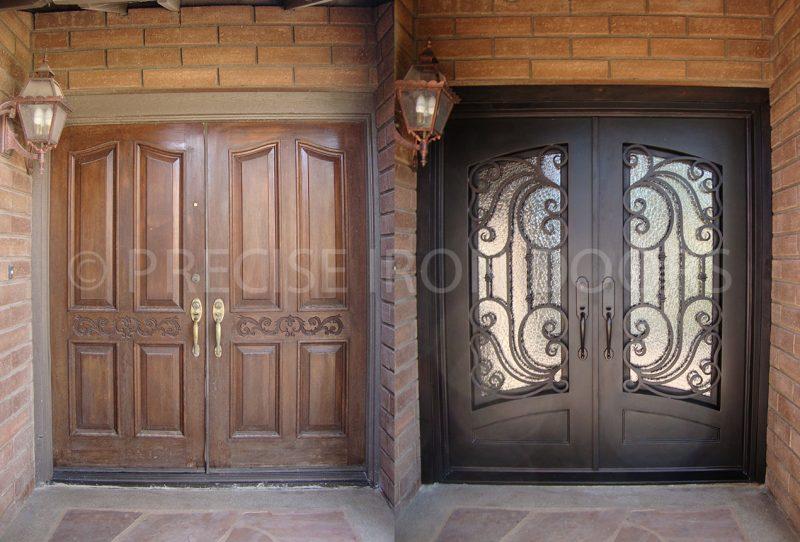 Before & After: Custom Door