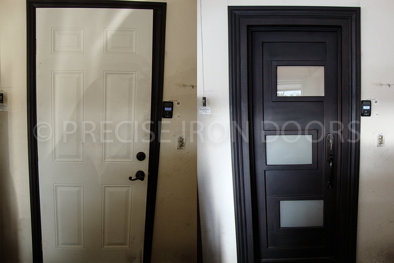 Before & After: Custom Door