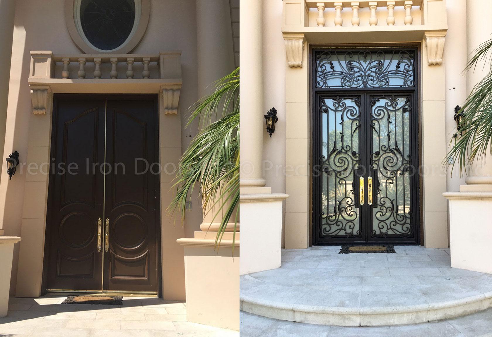 Before & After: Custom Design