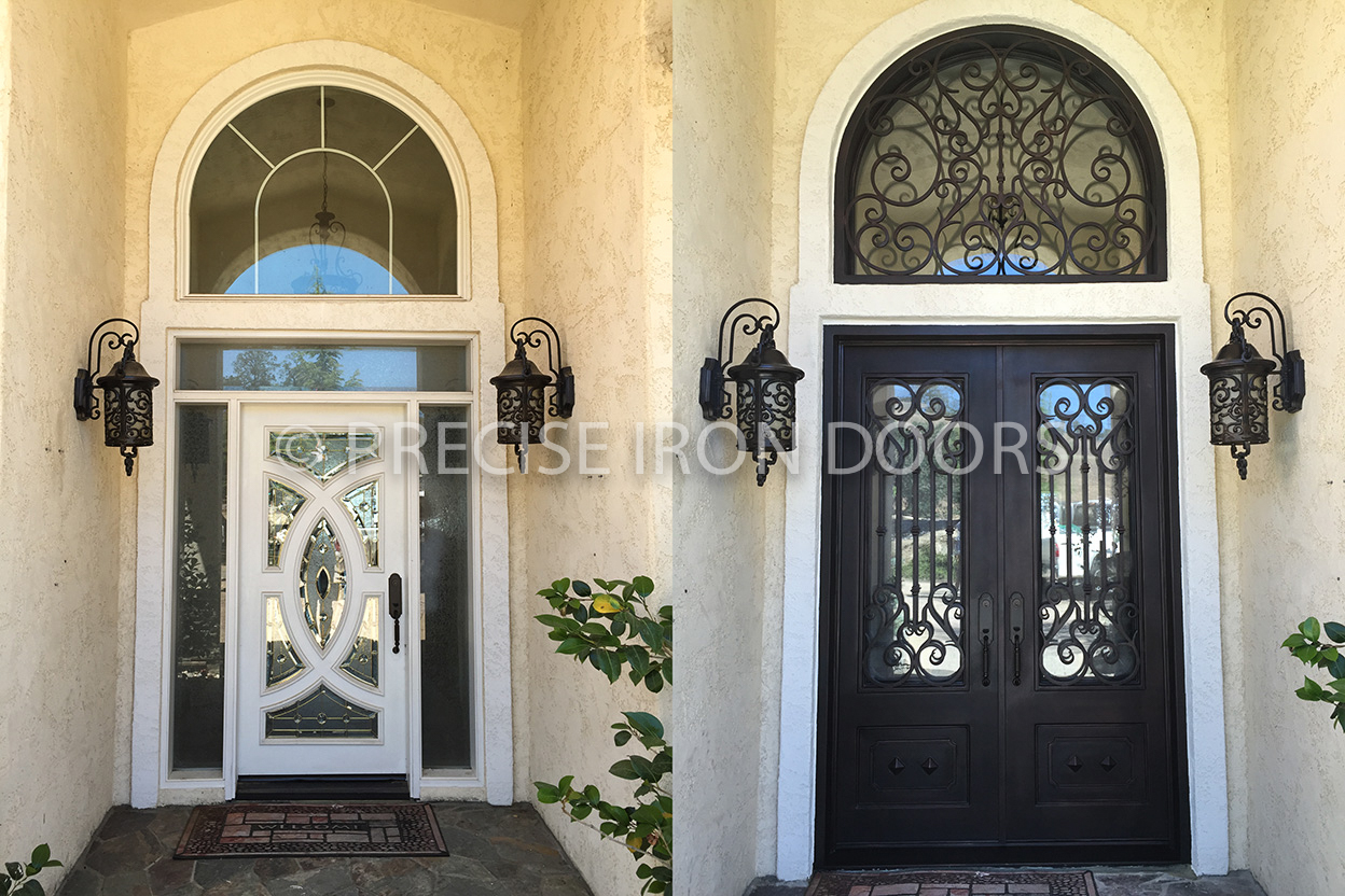 Before & After: Valencia w/ Transom