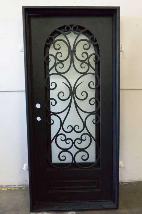 Berlin Single Entry Iron Door