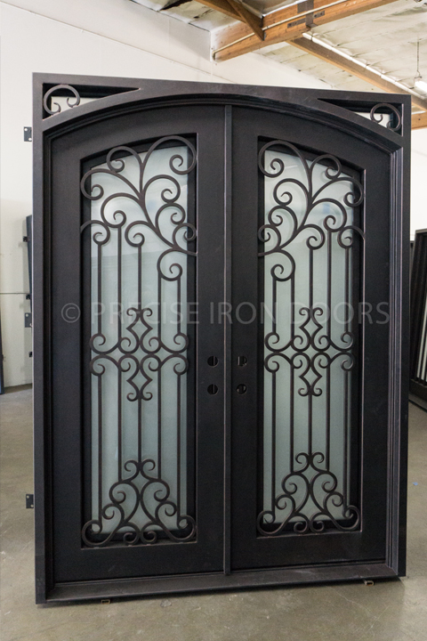 Denver Double Entry Iron Doors