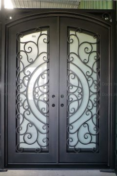 Dublin Double Entry Iron Doors