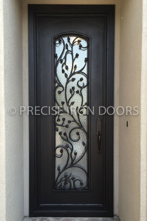 Florit Single Entry Iron Door