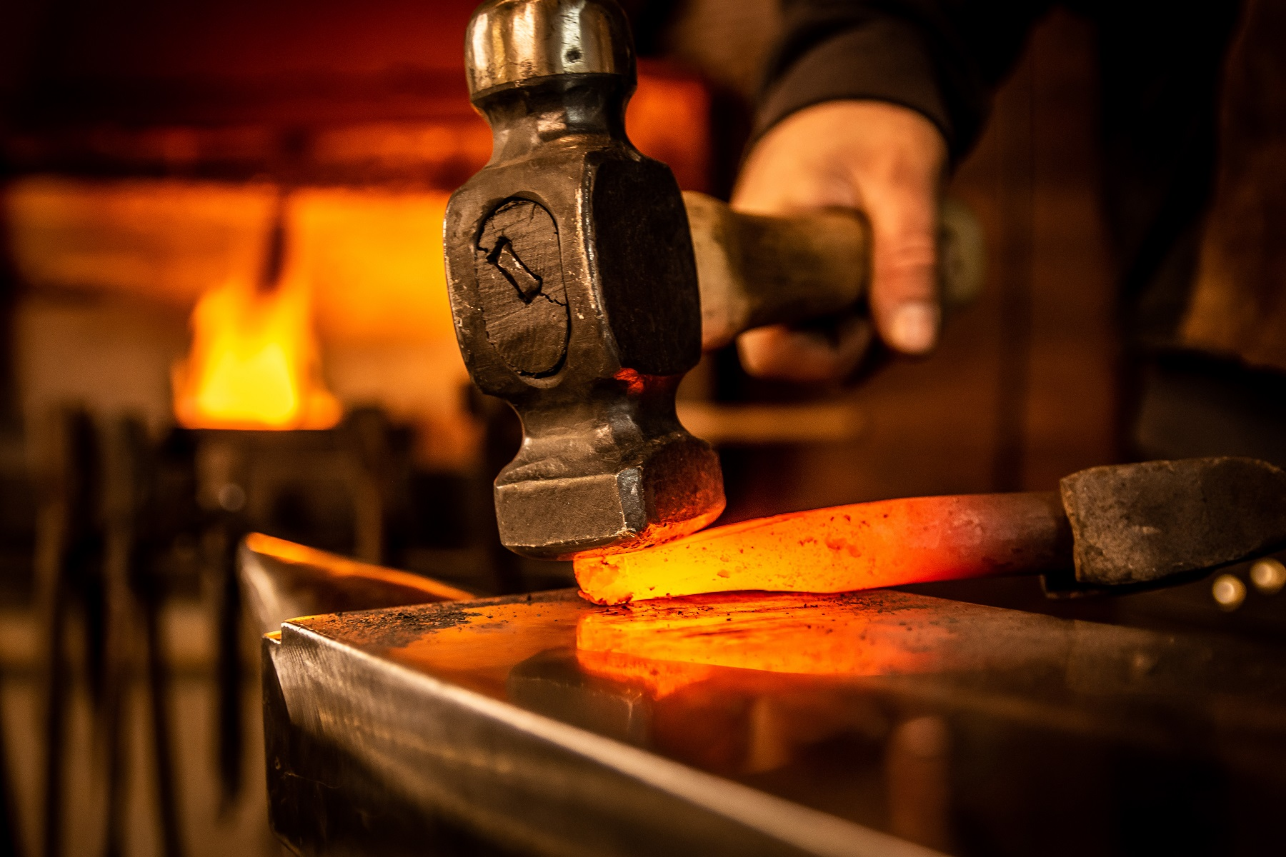 forge fire tools work
