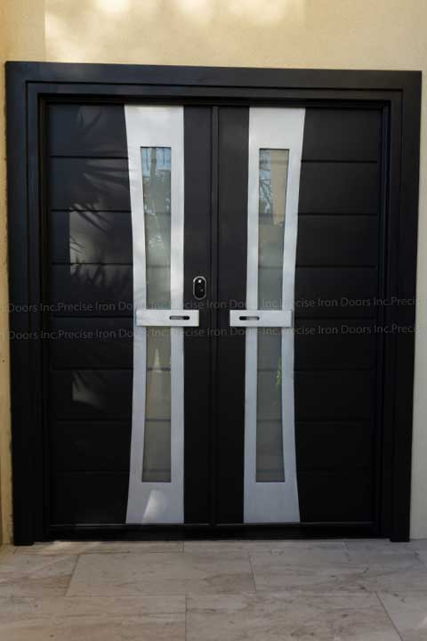 Hollywood Double Entry Iron Doors