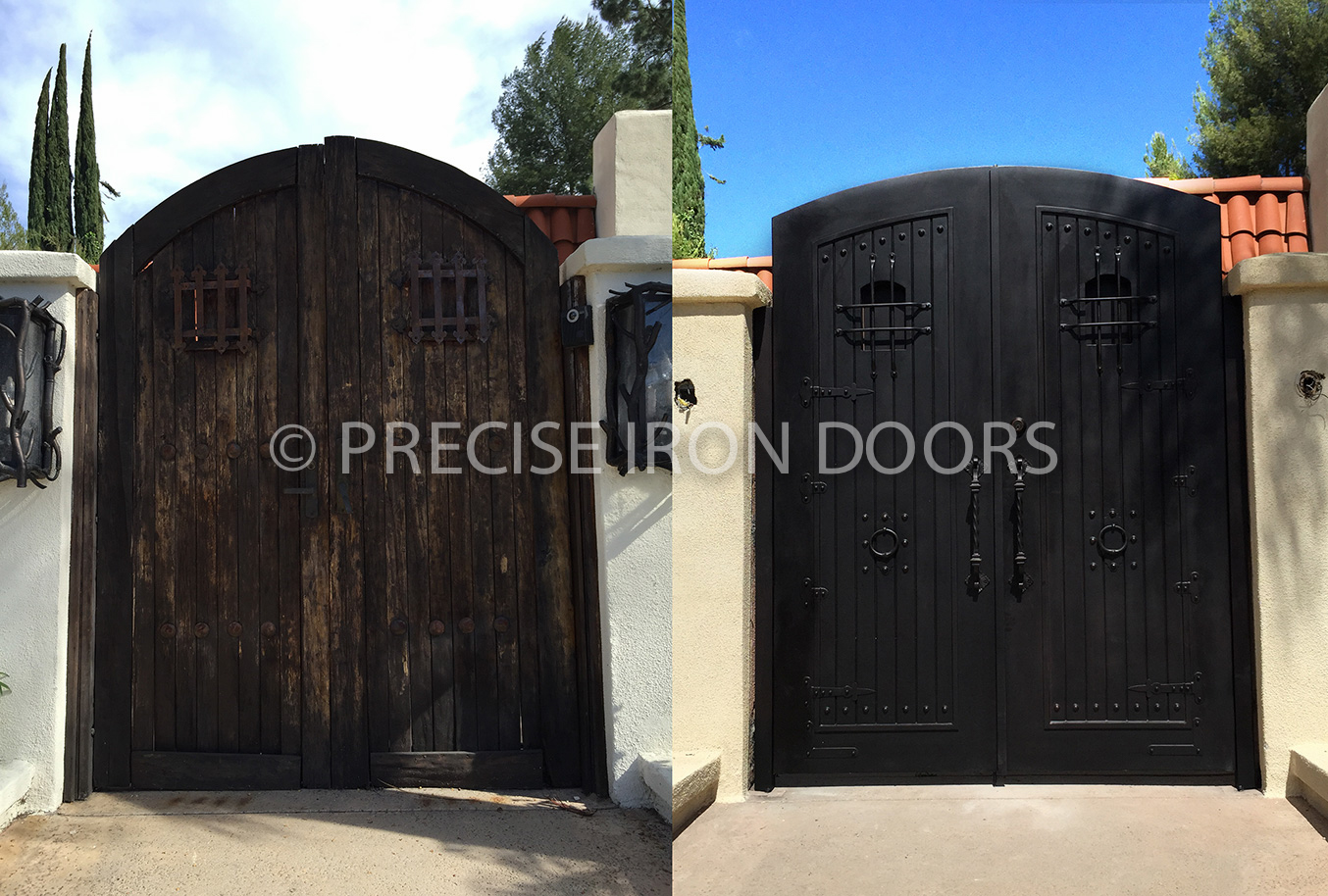 Before & After: Custom Gate