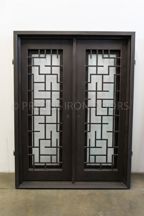 Lyon Double Entry Iron Doors