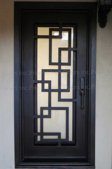 Marcelle Single Entry Iron Door
