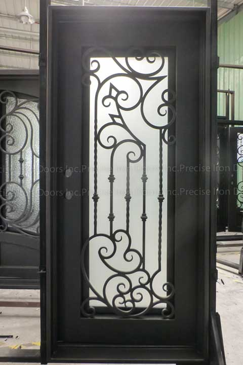 Melrose Single Entry Iron Doors