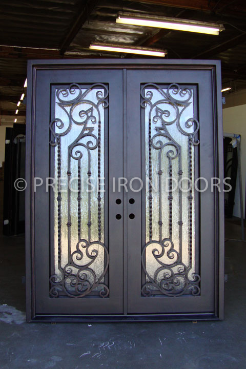 Melrose Double Entry Iron Doors