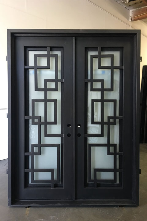 Marcelle Double Entry Iron Doors 61 x 81 (RightHand)