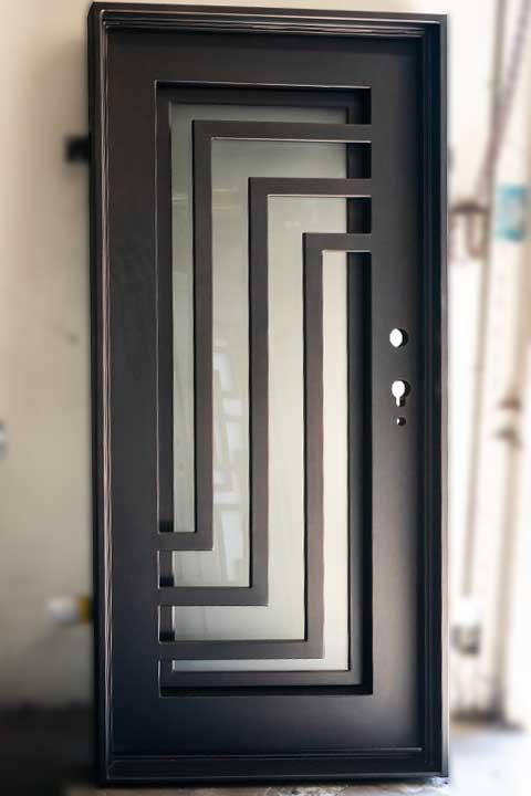 Nova Single Entry Iron Door