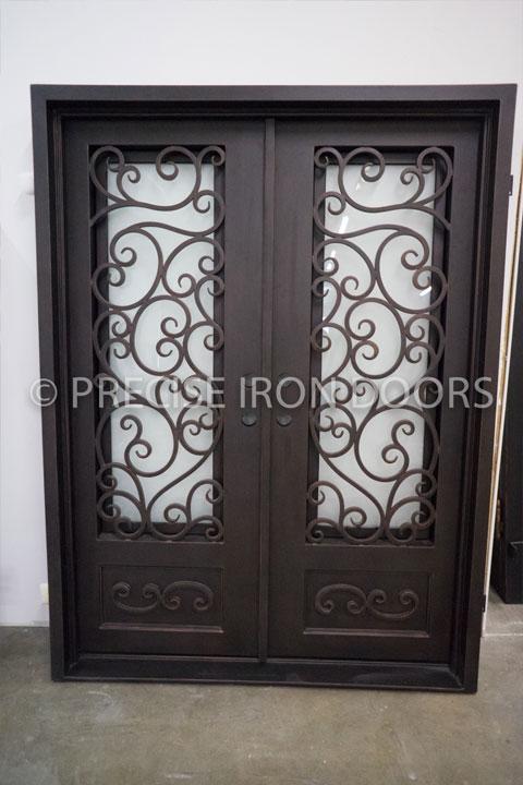 Napoli Double Entry Iron Doors 61 x 81 (Left Hand)