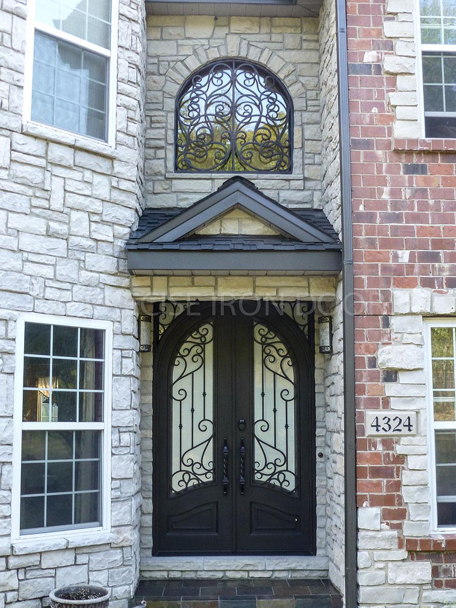 Custom Door w/ Transom