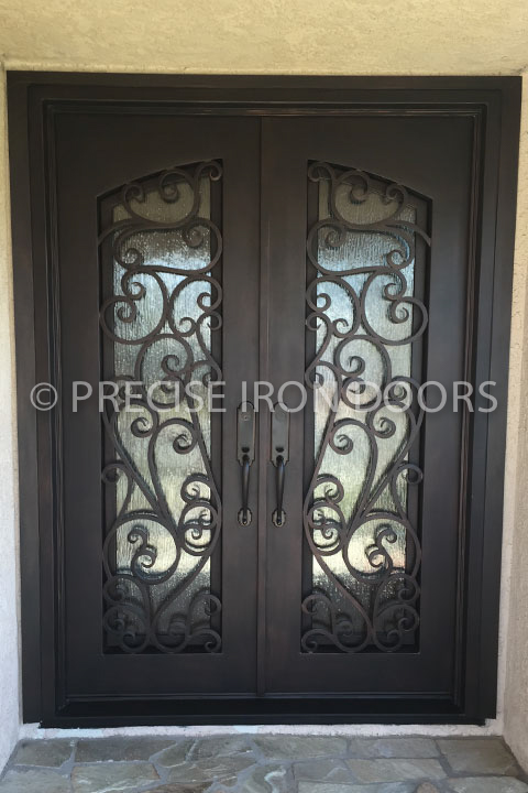 Parma Double Entry Iron Doors