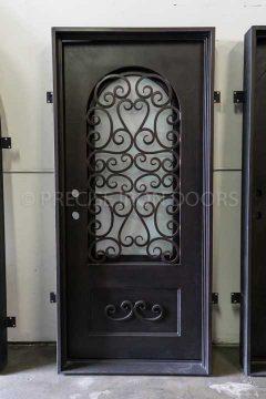 Pisa Single Entry Iron Door