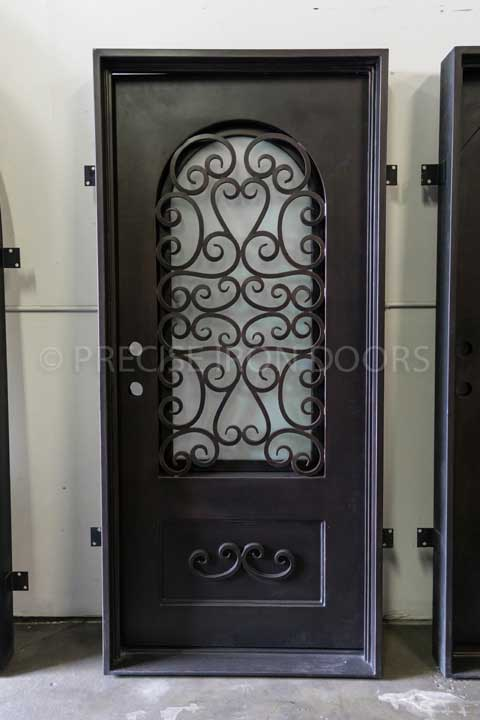 Pisa Single Entry Iron Door