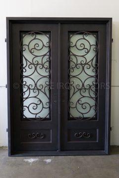 Sparta Double Entry Iron Doors