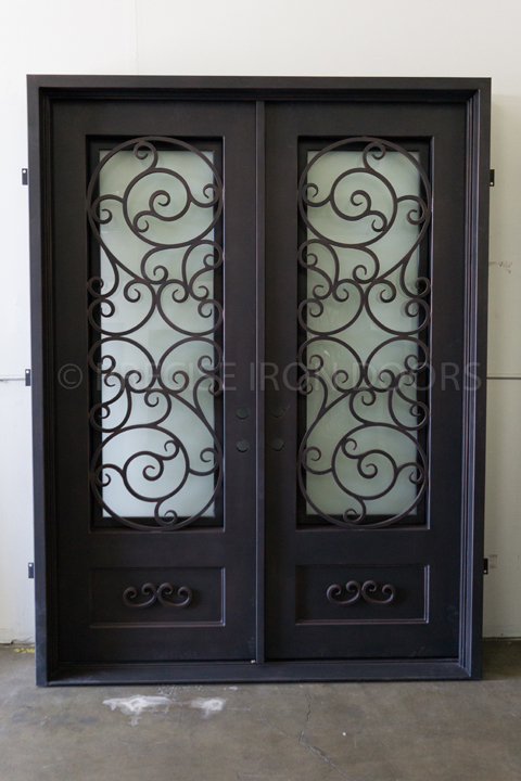 Sparta Double Entry Iron Doors