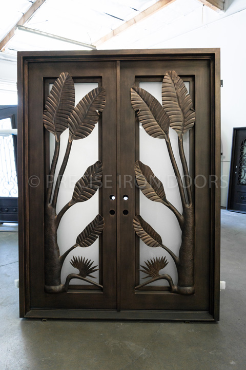 Tropicana Double Entry Iron Doors