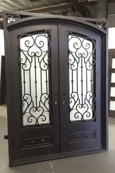 Valencia Double Iron Doors