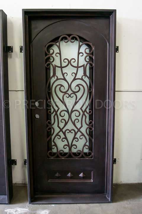 Vatican Single Entry Iron Door