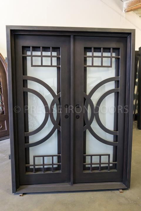 Vector Double Entry Iron Doors 72 x 81 (Left Hand)