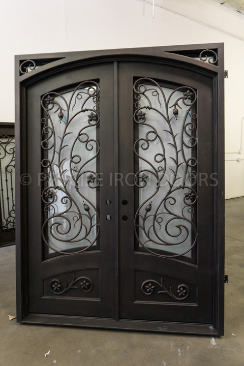 Venice Double Entry Iron Doors