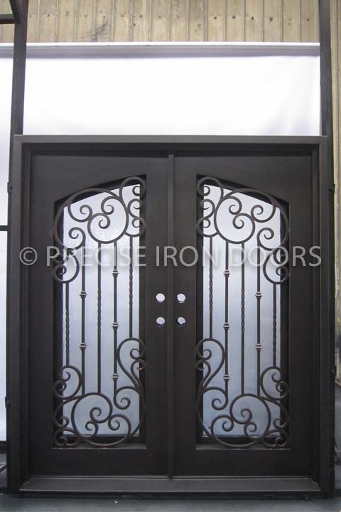 Vermont Double Entry Iron Doors 72 x 81 (Left Hand)