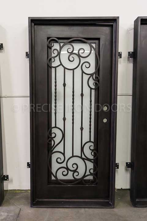 Vermont Single Entry Iron Door