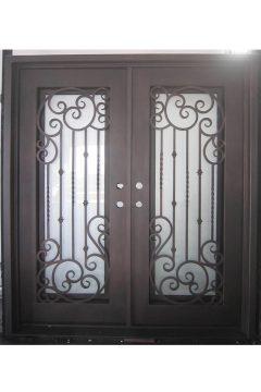 Vermont Double Entry Iron Doors 61 x 81 (Right Hand)