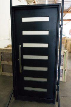Zeus 7 Single Entry Iron Door